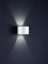 Buitenlamp Siri44-R led, mat wit IP54