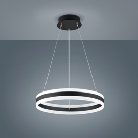 Hanglamp Liv led, 60 cm zwart