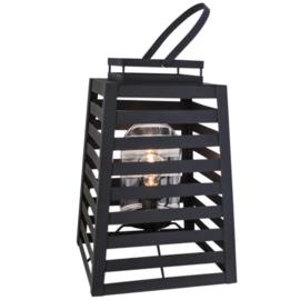 Buitenlamp Yankton, mat zwart incl. licht bron