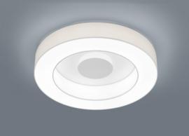 Plafondlamp Lomo led,  witte stoffen kap 65 cm
