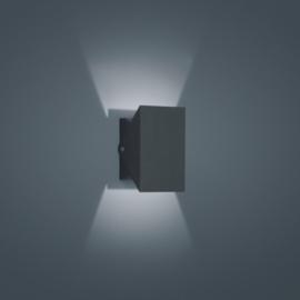 Wandlamp Free led, graphit