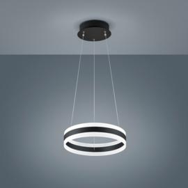 Hanglamp Liv led, 40 cm zwart