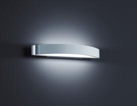 Wandlamp Yona led, aluminium mat/mat wit 37,5 cm