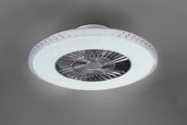 Plafond ventilator Harstad led