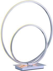 Tafellamp Ophelia led, staal