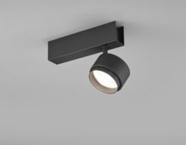 Plafondspot Pont led, 1-lichts mat zwart