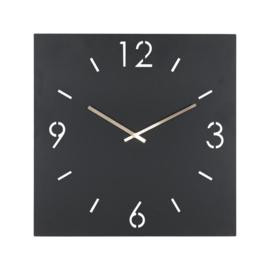 Time vierkant, 60 cm zwart
