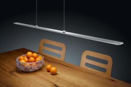 Hanglamp Lexx led easy lift, 109 cm nikkel