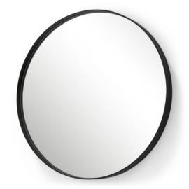 Spiegel Donna 5, zwart 90 cm