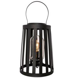 Buitenlamp Delphia 60 cm, mat zwart incl. licht bron