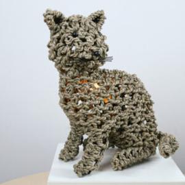 Tafellamp Cat, natural