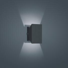 Buitenlamp Free led, mat grafit IP54