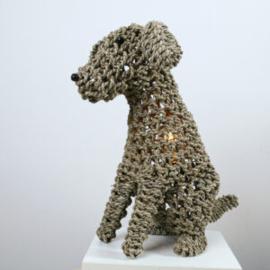 Tafellamp Dog, natural