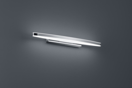 Wandlamp Argo led, chroom met acryl glas 50 cm