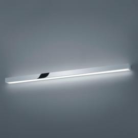 Wandlamp Theia led, chroom met acryl glas 120 cm