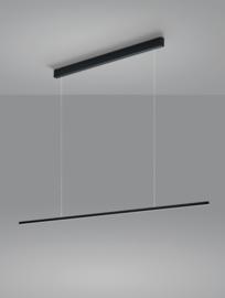 Hanglamp Loopy led, zwart