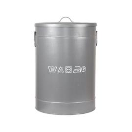 Wasmand L 40x40x58 cm grijs