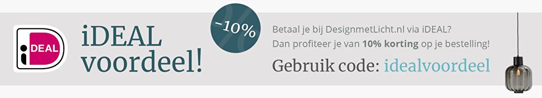 iDEAL voordeel, kortingscode, 10% korting | DesignmetLicht.nl
