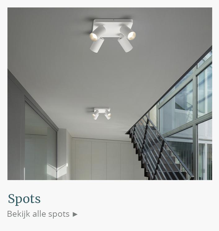 Design spots, plafondspots, wandspots, spots bestellen | DesignmetLicht.nl