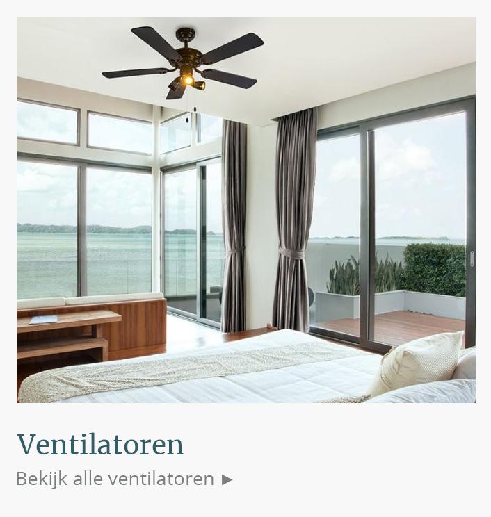 Design ventilatoren, plafondventilatoren, plafondventilator kopen | DesignmetLicht.nl