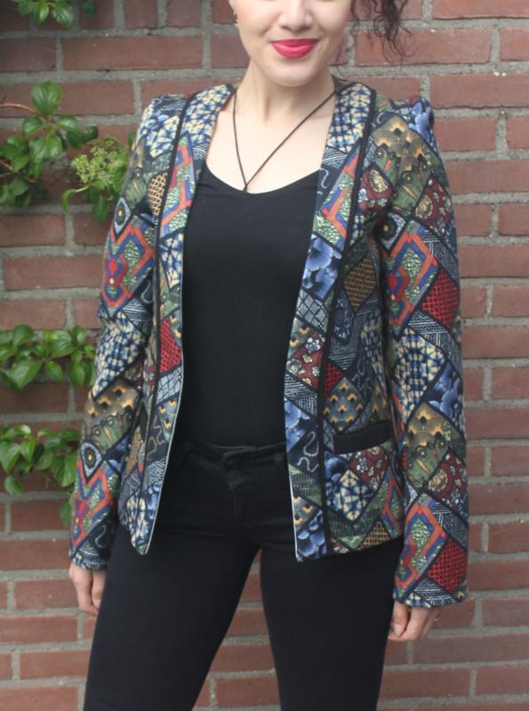 Kleurrijk jasje