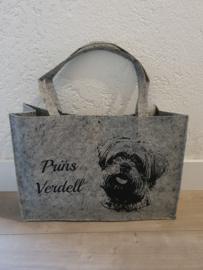 Vilten tas met je eigen huisdier.