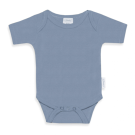 Romper - Basic - Grey/Blue