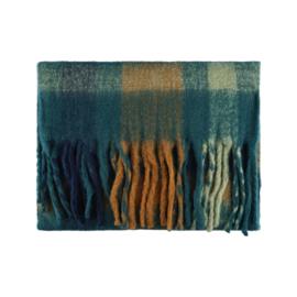 Sjaal - Cozy winter - Blauw/groen