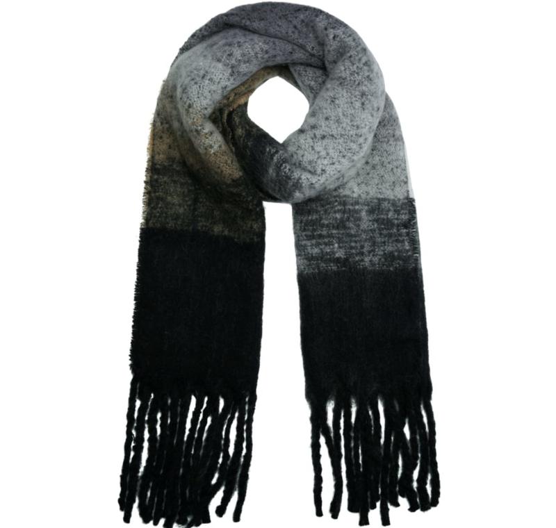 Sjaal - Keep me warm  - Zwart