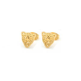 Lovaly panter studs | Goud