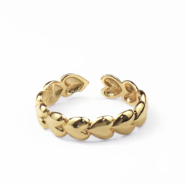 Lovaly Ring Heart | Goud