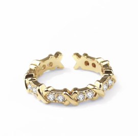 Lovaly Ring Xess | Goud