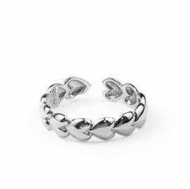Lovaly Ring Heart | Zilver