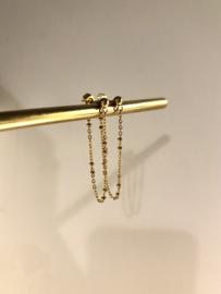 CHAIN EARRINGS | GOLD