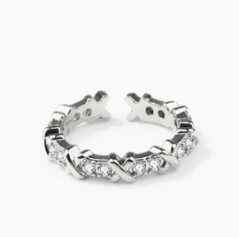 Lovaly Ring Xess | Zilver