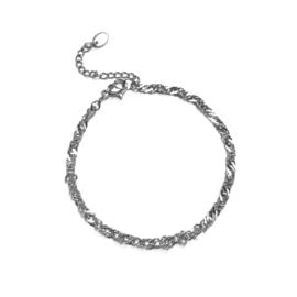 Lovaly Tiny schakelarmband | Zilver