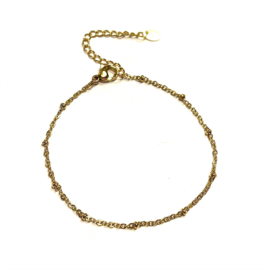 Lovaly armband dots | Goud