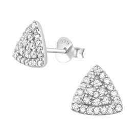 Lovaly Triangle Crystal | Zilver