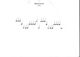 Cymbaal, lapharp muziek/kaarten
