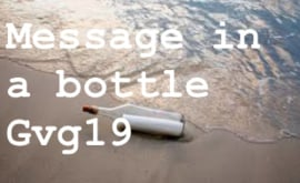 Message in a bottle compositie 2019