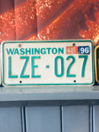 Kentekenplaten, number plates from the usa,