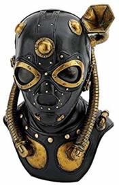 Steampunk borstbeeld