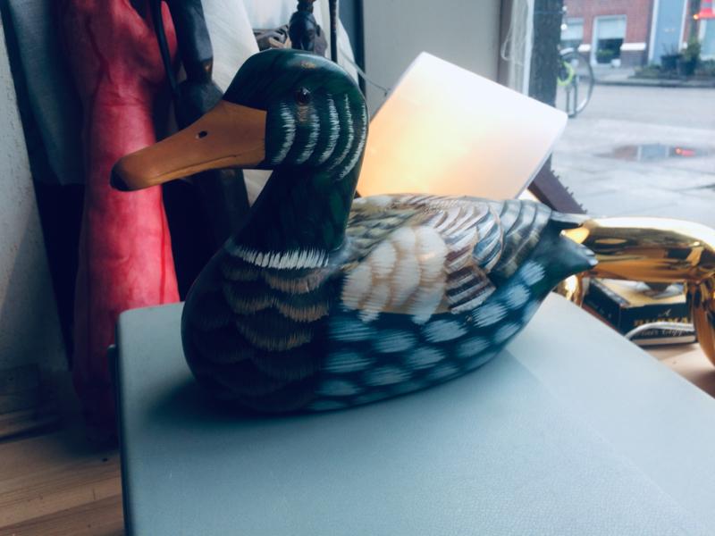 Lok eenden paartje/ decoy ducks pair