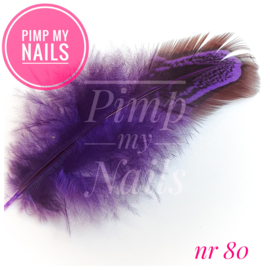 Pimp My Nails 080 veertje paars