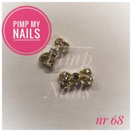 Pimp My Nails 068 mini strik met steentjes