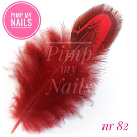 Pimp My Nails 082 veertje rood