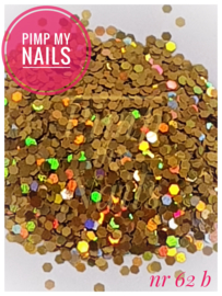 Pimp My Nails 62B cognac multicolor