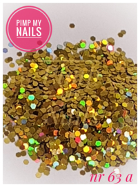 Pimp My Nails 63A geel/goud