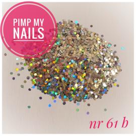 Pimp My Nails 61B zilver multi color