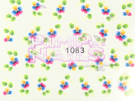 Pimp my Nails Sticker 028
